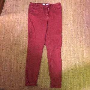 A New Day Red Pants